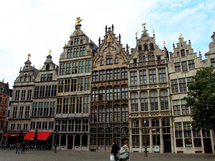 Gildehuizen op de Grote Markt in Antwerpen
