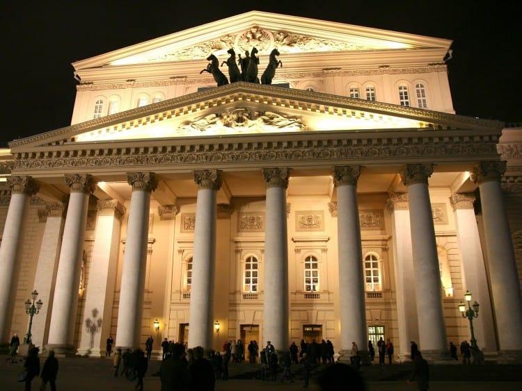 Bolsjojtheater by Night
