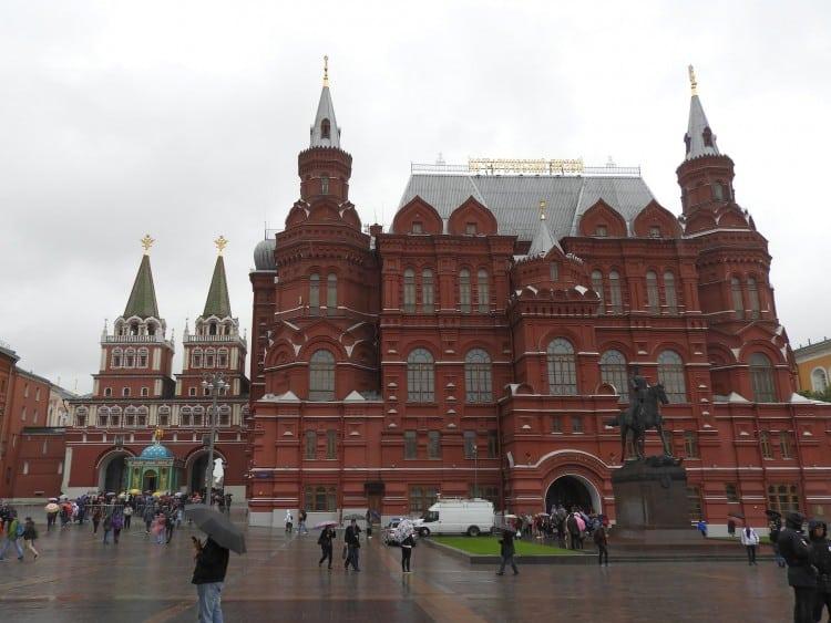 Het Nationaal Historisch Museum op het Rode Plein