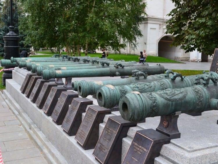 Kanonnen in het Kremlin