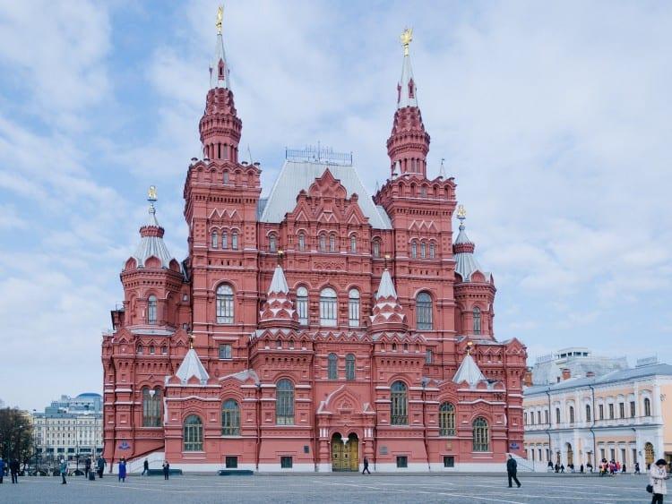 Het Nationaal Historisch Museum aan het Rode Plein