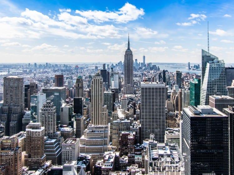 Uitzicht naar het Empire State Building